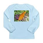 Beautiful Butterfly Long Sleeve Infant T-Shirt