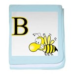 B is for Bee baby blanket
