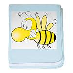 The Original Cute Bee baby blanket