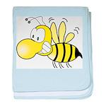 Original Cute Stinger Bee baby blanket