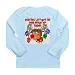 Christmas without my Soldier Long Sleeve Infant T-