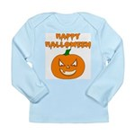 Halloween Pumpkin Long Sleeve Infant T-Shirt