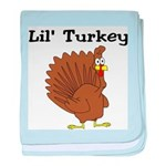 Lil' Turkey baby blanket