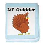 Lil' Gobbler baby blanket