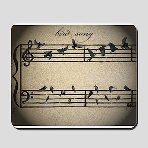 bird song Mousepad