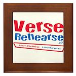 Verse Rehearse Framed Tile