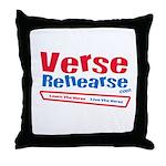 Verse Rehearse Throw Pillow