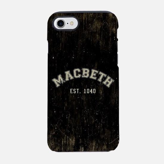 Retro Macbeth iPhone 7 Tough Case