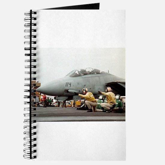 F14B Tomcat From the USS Kitt Journal
