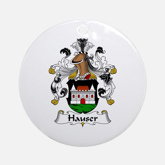 Hauser Ornament (Round)