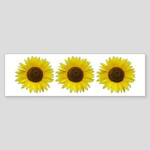 Helaine's Sunflower Sticker (Bumper)