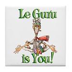 Le Guru is You! Tile Coaster