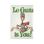 Le Guru is You! Rectangle Magnet