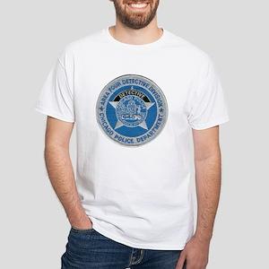 Chicago Police Detective White T-Shirt