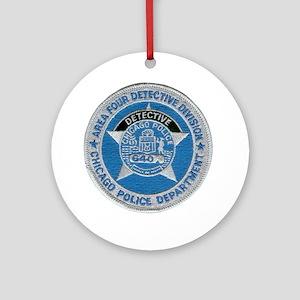 Chicago Police Detective Ornament (Round)