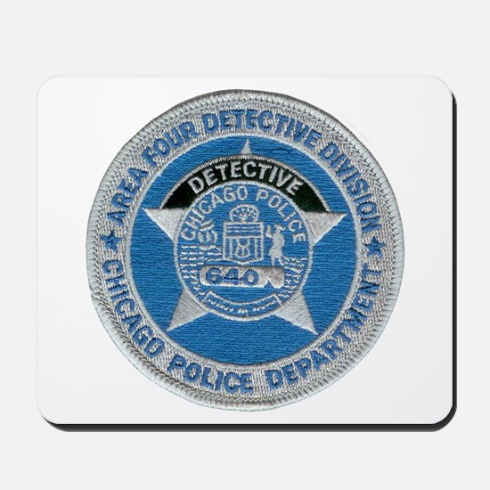 Chicago Police Detective Mousepad