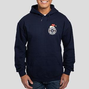 Firefighter Santa Hoodie (dark)