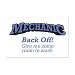 Mechanic / Back Off Mini Poster Print