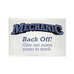 Mechanic / Back Off Rectangle Magnet (100 pack)
