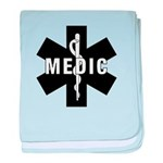 Medic EMS Star Of Life baby blanket
