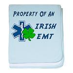 Irish EMT Property baby blanket