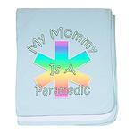 Paramedic Mom baby blanket