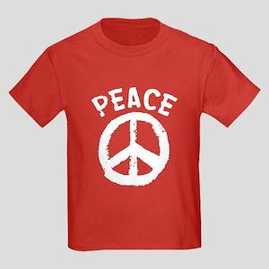 Peace Time Kids Dark T-Shirt