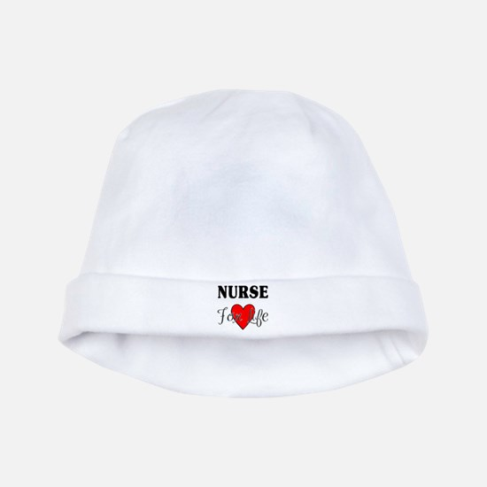 Nurse For Life baby hat