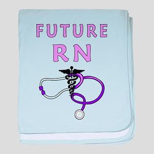 Nurse Future RN baby blanket