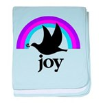 Doves Of Joy baby blanket
