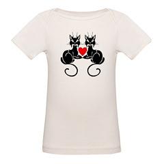 Black Cat Love Tee