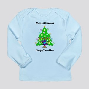 Hanukkah and Christmas Interfaith Long Sleeve Infa