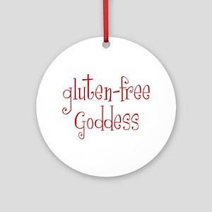 Gluten Free Goddess Ornament (Round)