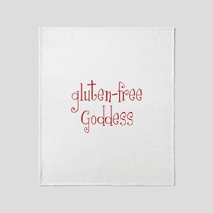 Gluten Free Goddess Throw Blanket