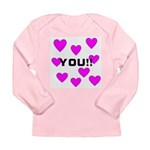 Love You! Long Sleeve Infant T-Shirt