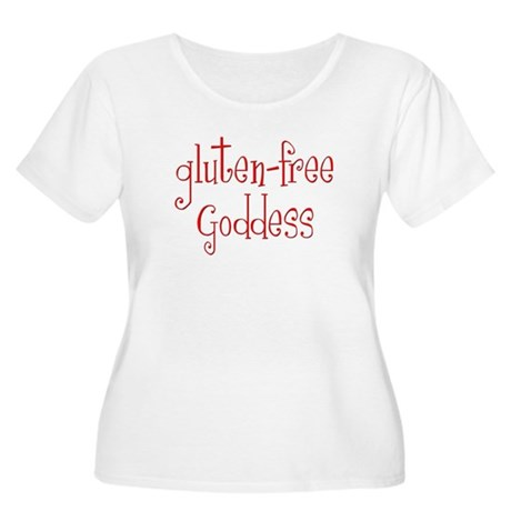 Gluten Free Goddess Women's Plus Size Scoop Neck T