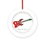 Play Peace (Guitar) Ornament