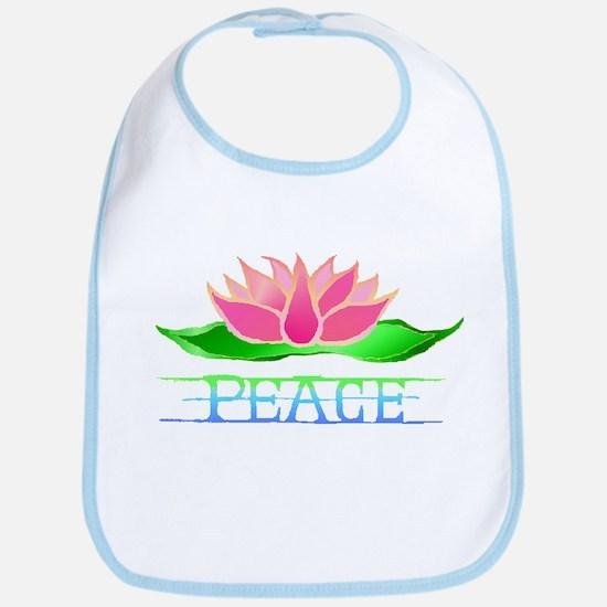 Lotus Blossom Bib