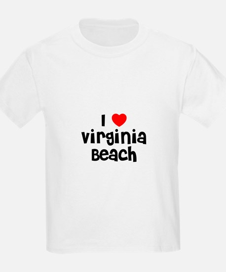 I * Virginia Beach Kids T-Shirt