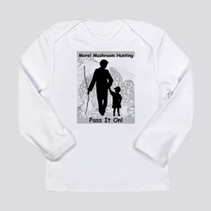 Morel Hunting - Pass it Long Sleeve Infant T-Shirt