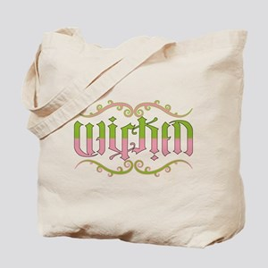 Wicked Ambigram Tote Bag