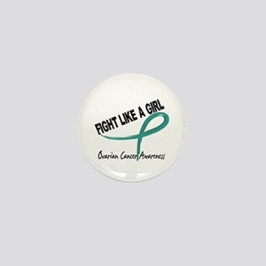 Licensed Fight Like A Girl 7.3 Ovarian Mini Button