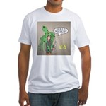 Squid Effects Fitted T-Shirt