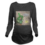 Squid Effects Long Sleeve Maternity T-Shirt