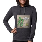Squid Effects Womens Hooded Shirt