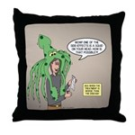 Squid Effects Throw Pillow