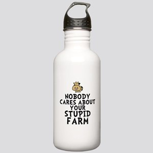 Stupid Farm - Cow Stainless Water Bottle 1.0L