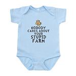 Stupid Farm - Cow Infant Bodysuit