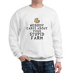 Stupid Farm - Cow Sweatshirt