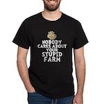 Stupid Farm - Cow Dark T-Shirt